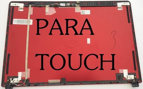 Tampa + Flat + Dobradiças Da Tela Touch Dell 5470 5480 Touch