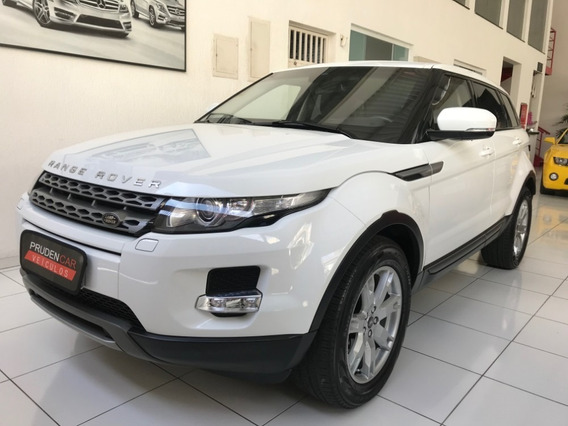 Land Rover Range Rover Evoque Pure Tech 2013 Gasolina Branca