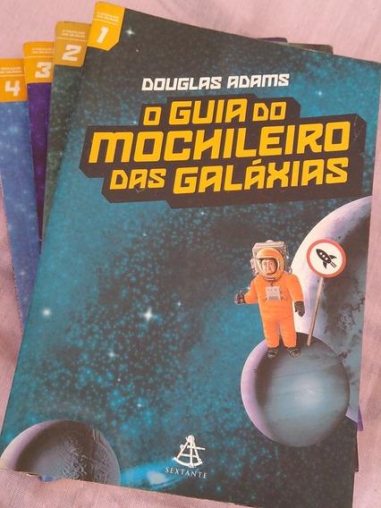 Coleção De Livros - O Guia Dos Mochileiros Das Galáxias