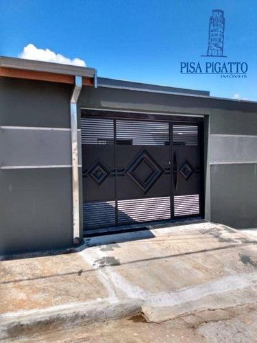 Imagem 1 de 19 de Casa À Venda, 137 M² Por R$ 380.000,00 - Serra Azul - Paulínia/sp - Ca2497