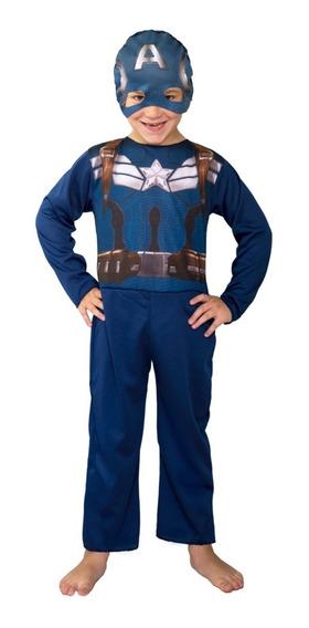 Disfraz Capitan America Original New Toy