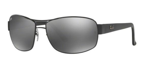 Oculos Sol Ray Ban Rb3503l 006/30 66mm Preto Fosco Cinza Esp