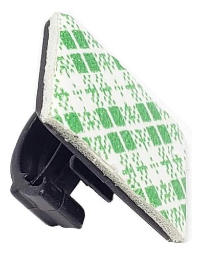 Imagen 1 de 10 de Organizador De Cables Clips Adhesivo Eboot Holder Pack X 100