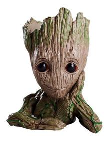 Vaso Porta Treco Caneta Baby Groot Guardiões Da Galáxia V2