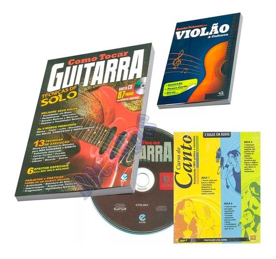 Curso Como Tocar Guitarra + Acordes Poderosos + Curso Canto