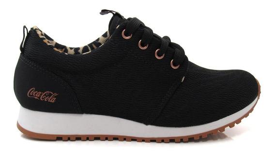 Tênis Feminino Jogging Coca Cola Shoes Cc1577 Sense Original