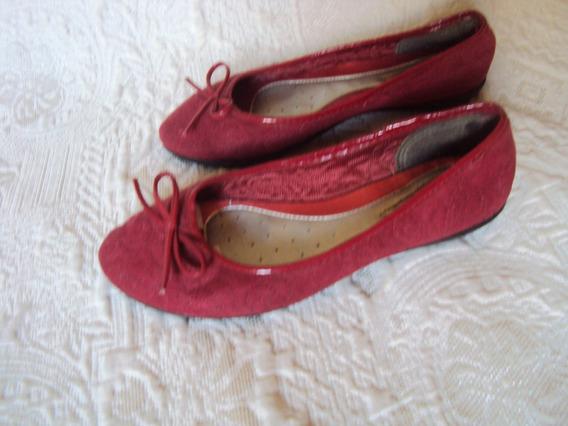 Sapatilha / Sapato Grendha Soft Vermelha Tamanho 35