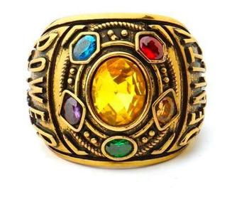 Anillo Gemas De Infinito Thanos Infinity War Avengers Tallas