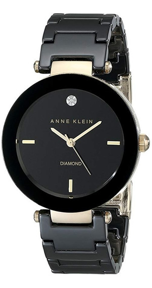 Relógio Feminino Anne Klein Cerâmica Preta