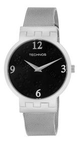 Relógio Feminino Technos Social Prata 2025aj/1p Prata