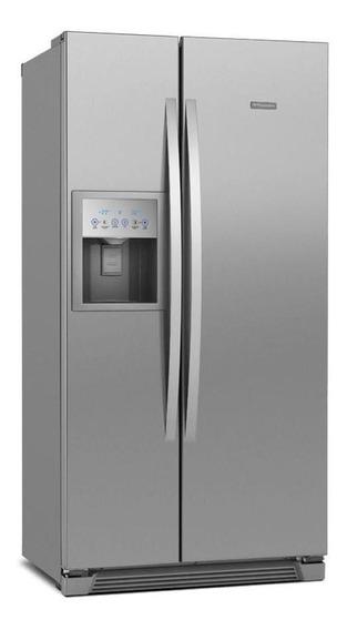 Geladeira frost free Electrolux SS72 inox 504L 110V