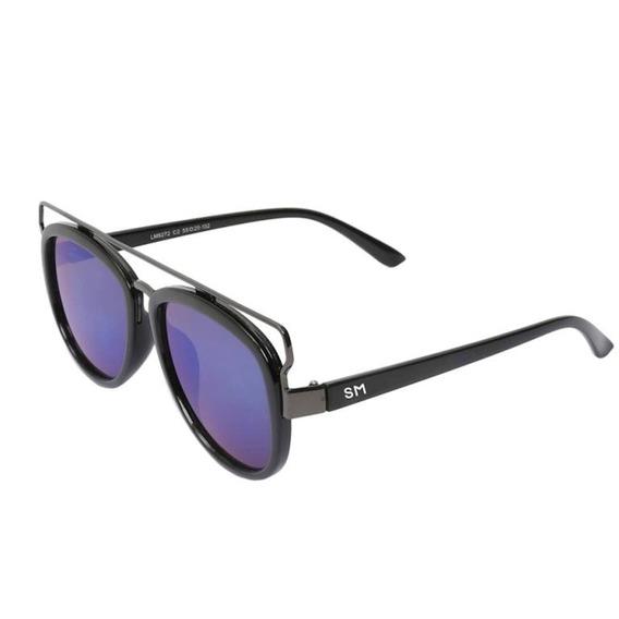 Óculos De Sol Masculino Sandro Moscoloni Jean Preto