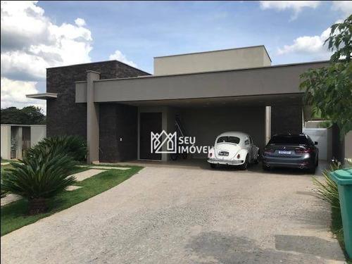 Casa Com 4 Dormitórios À Venda, 350 M² Por R$ 2.200.000,00 - Condomínio Campos De Santo Antônio Ii - Itu/sp - Ca2131