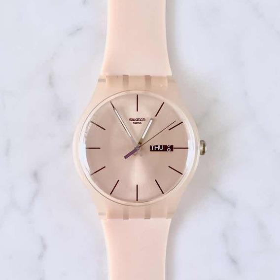 Relógio Swatch Rose Nude *original* Novo! Sem Bateria
