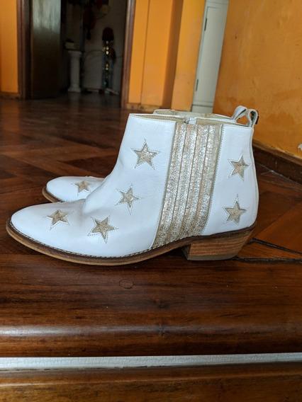 Botinetas Estrellas Blanca