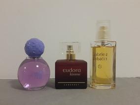Kit Com 3 Perfumes Femininos - Marcas Diversas