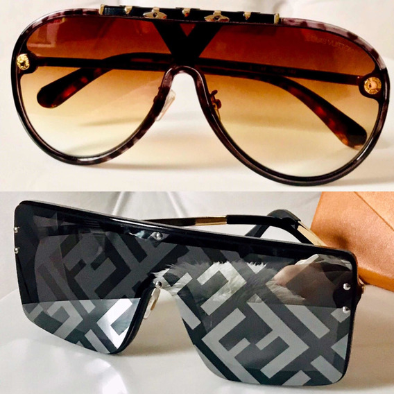 Óculos De Sol Fendi E Louis Vuitton Juntos