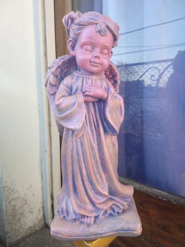 Estatua Ángel Niña Gigante 42 Cm Solo X Pedido Garantía