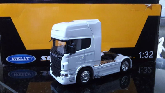Miniatura Caminhão Scania R730 V8 Escala 1/32 ( Toco) Miniat