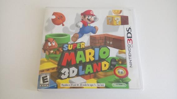 Somente Caixa Do Mario 3d Land Para Nintendo 3ds Leia Tudo