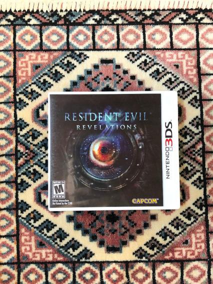 Resident Evil Revelations - 3ds - Original E Americano