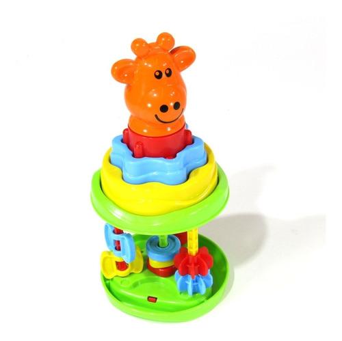 Baby Roll Tower Osito, Jirafa, Cerdito - Aj Hogar