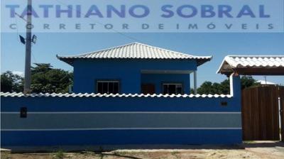 Casa Para Temporada, Jaconé, 2 Dormitórios, 1 Suíte, 2 Banheiros, 2 Vagas - 265