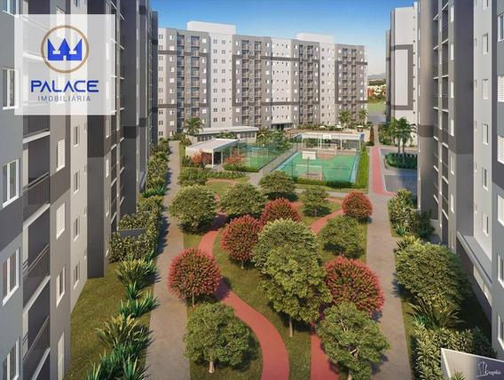 Apartamento Com 2 Dormitórios À Venda, 55 M² Por R$ 151.900 - Parque Cecap I - Piracicaba/sp - Ap0106
