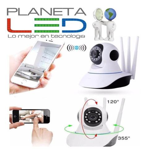 Imagen 1 de 5 de Cámara Ip Full Hd Robotica Wifi Vigila Celular Alarma Audio
