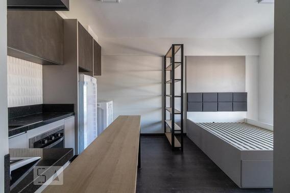 Studio No 3º Andar Mobiliado Com 1 Dormitório E 1 Garagem - Id: 892945344 - 245344