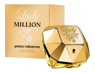 Perfume Importado Paco Rabanne Lady Million Edp 50ml