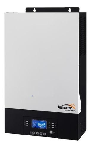 Inversor Cargador Solar 3000w 24v Pvi King Mppt 60a Renogen