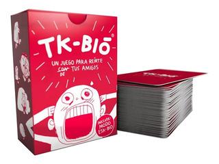 Juego Cartas Tk-bio Previa Para Reirte Con Tus Amigos Lelab