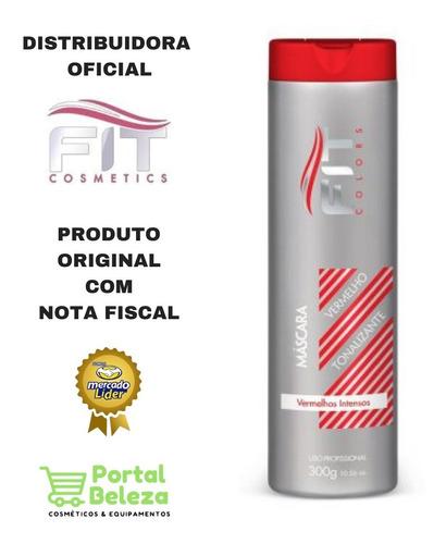 Mascara Tonalizante Vermelho Intenso - Fit Cosmetics