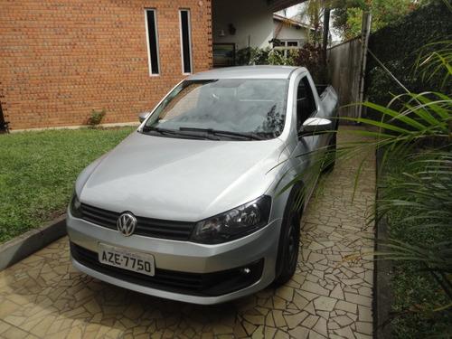 Volkswagen Saveiro 1.6 Startline 2015 Prata Cs Completa