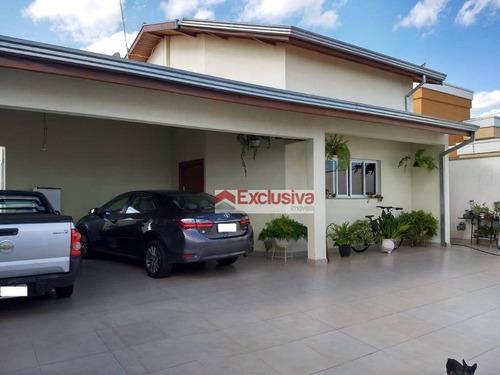Casa À Venda, 284 M² Por R$ 900.000,00 - Parque Dos Servidores - Paulínia/sp - Ca1860