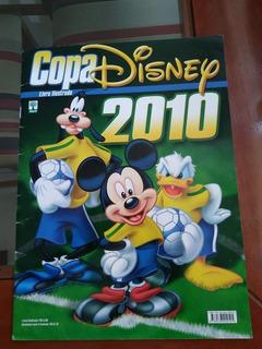 Álbum Figurinhas Copa Disney 2010 Completo - Frete Grátis