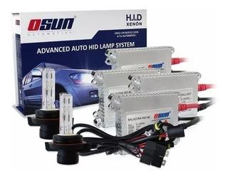 Kit Xenon Real Osun Slim Luces Automotriz 9007 H13 H4 Hid