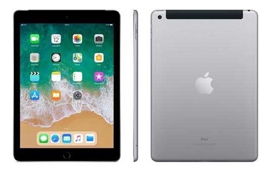 iPad Cinza Espacial Tela 9,7 4g 128 Gb A10 Mr722bz/a