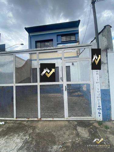 Salão Para Alugar, 250 M² Por R$ 3.500,00/mês - Campestre - Santo André/sp - Sl0156
