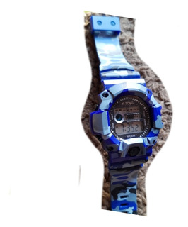 Reloj Digital Camuflado Hombre Cronometro