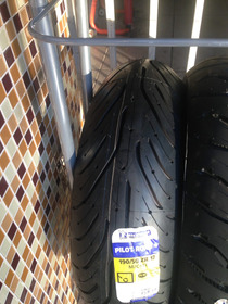 Combo Pneu Michelin Pilot Road 4 120/70-17 E 190/50-17