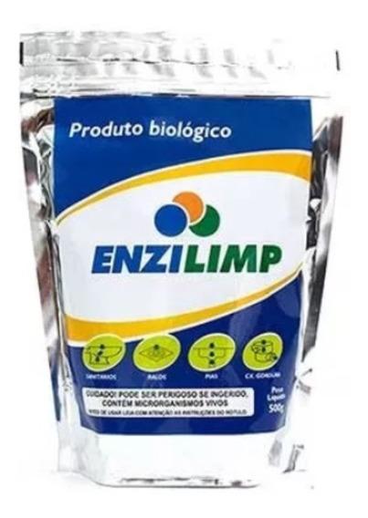 Enzilimp Biodegradador - 500g Limpa Fossa E Caixa Gordura
