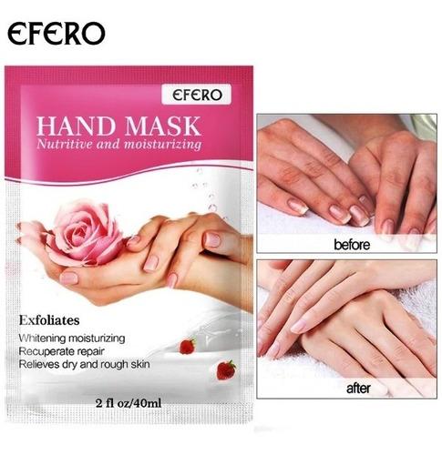 Luvas Esfoliante E Hidratantes Para Mãos  Efero Novidade