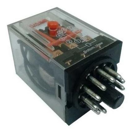 Relé Industrial Tipo Finder 60.12.8.220.0040 220vac 8 Pinos