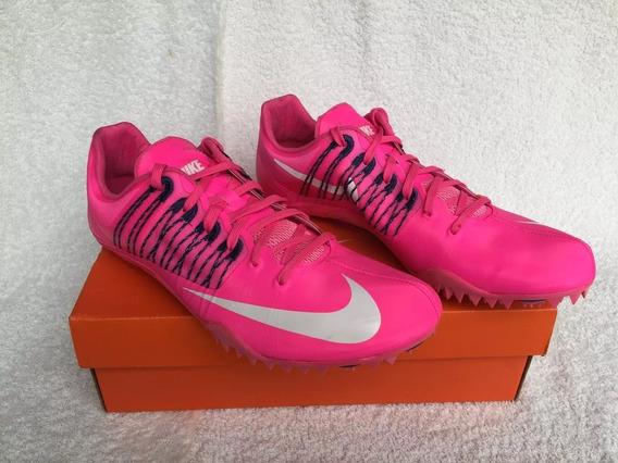 Zapatillas De Atletismo C/ Clavos. Rosas Y Blancas Consultar