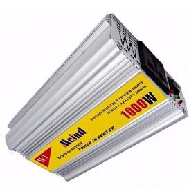 Inversor Conversor Veicular Bateria Dc 12v Ac 110v 1000w