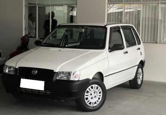 Fiat Uno 1.0 Mille Fire Flex 2006 Branco.