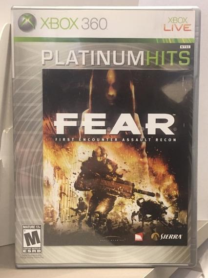 Fear First Encounter Assault Recon - Xbox 360 Midia Fisica Usado