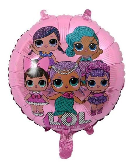 Lol Muñecas Divas 1 Pz Globo Metalizado 65 Cms